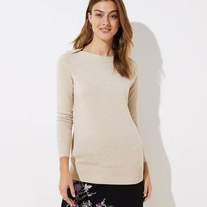 LOFT Shoulder Button Tunic Sweater 🎉HP🎉
